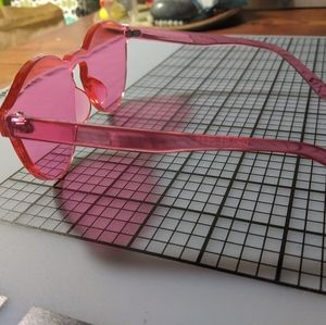 All pink sunglasses